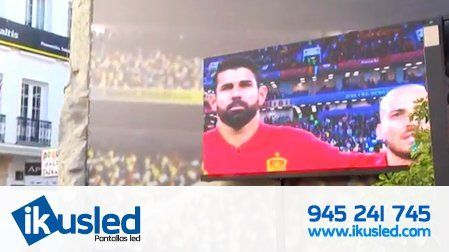 TV de led gigante