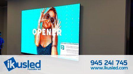 showroom de pantalla led