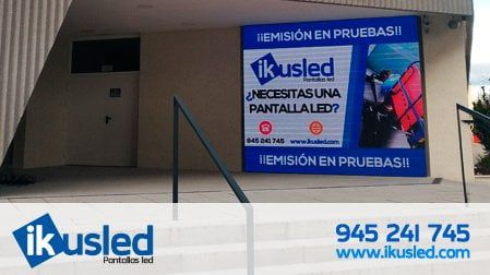 pantalla led a medida Madrid