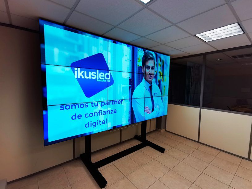 pantallas video wall